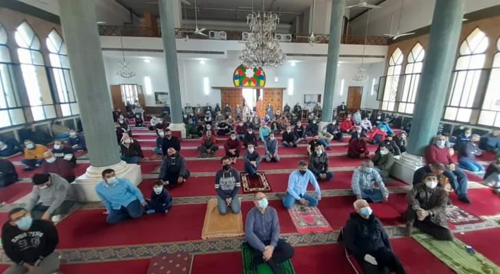 النشرة: إقامة صلاة الجمعة بمساجد صيدا وسط إجراءات وقائية مشددة