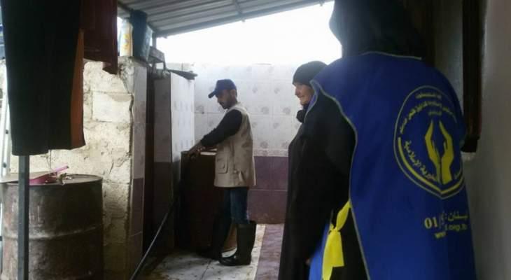 جمعية الإمداد الخيرية الاسلامية توزع المازوت على 1058 عائلة في الهرمل