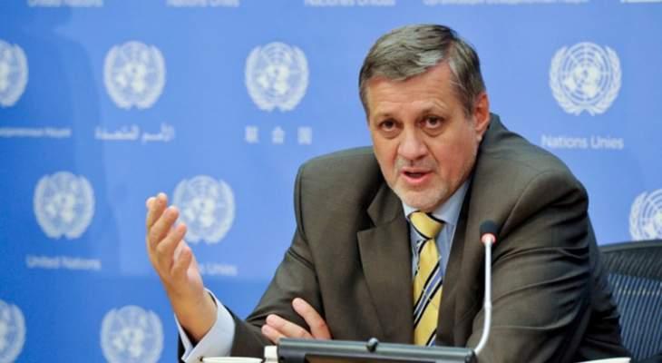 كوبيش دعا لتكليف رئيس مجلس وزراء والبدء بعملية استشارات نيابية وتشكيل حكومة جديدة