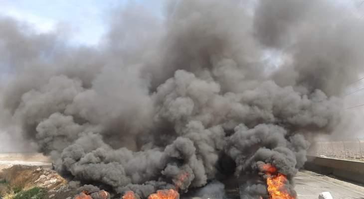 النشرة: إقفال طريق حمص الدولي بالقرب من مستشفى دار الحكمة