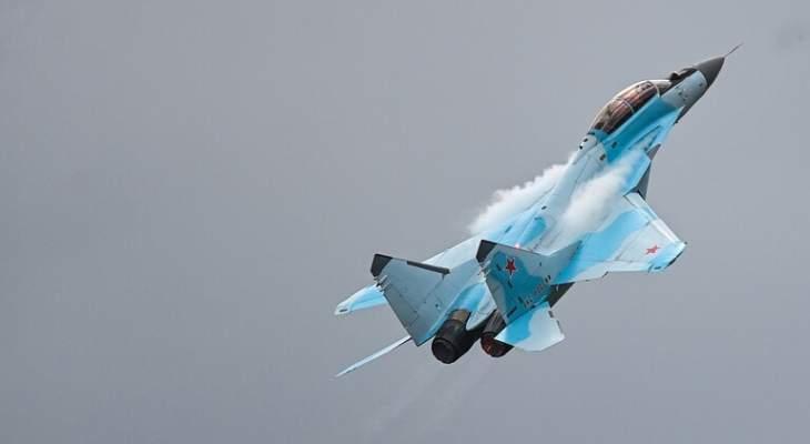 الجيش الروسي: سقوط طائرة في بحر أوخوتسك شرق البلاد بعد تعطل أحد محركيها