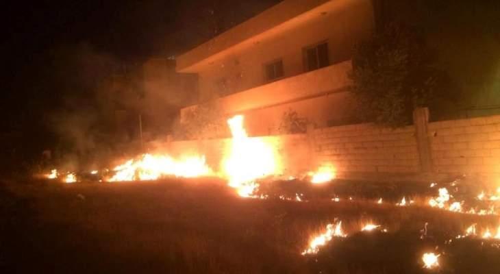 الدفاع المدني: إخماد 4 حرائق أعشاب في مجدل عنجر والنبطية الفوقا وقصرنبا والمنية