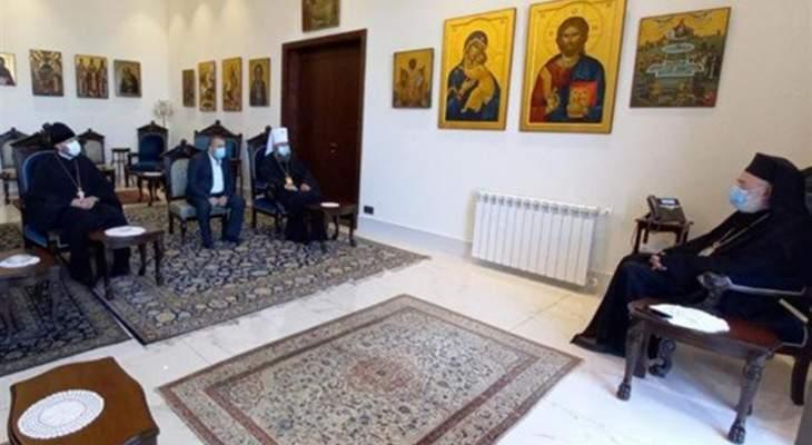 موفد بطريرك كييف بعد زيارته عودة: قلقون على مصير لبنان والكنيسة الانطاكية الارثوذكسية