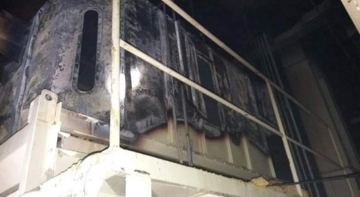 الدفاع المدني: إخماد حريق داخل معمل لإنتاج العلف في كفرحزير- الكورة
