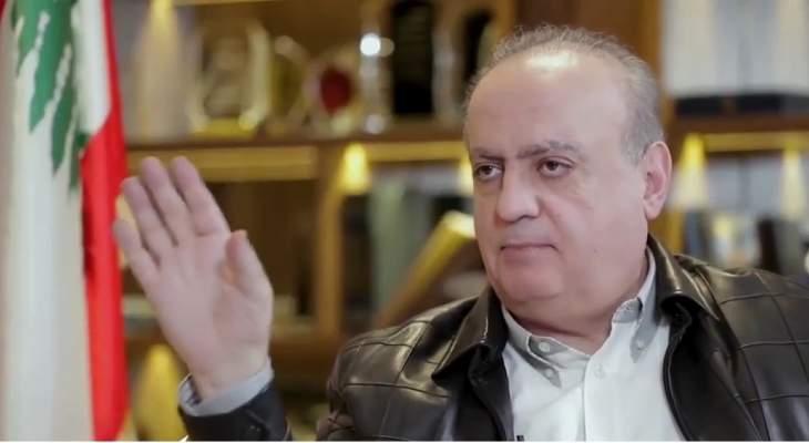 وهاب: نتمنى ألا يكون مارون شماس أقوى من الوزارات حتى تحمست عكر للدفاع عنه
