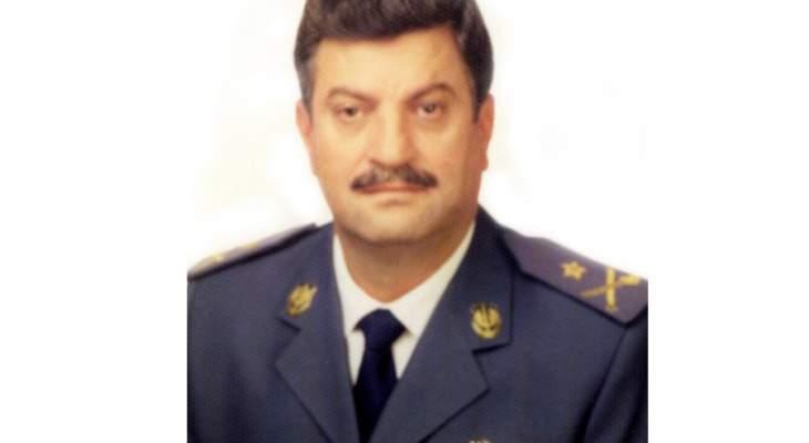 قيادة الجيش اللبناني نعت العميد الركن الطيار المتقاعد إيلي يونس