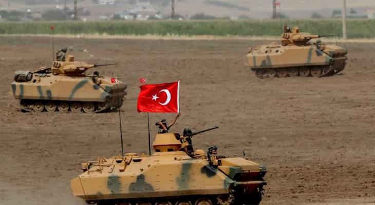 وزارة الدفاع التركية تعلن قتل 10 مسلحين أكراد في سوريا