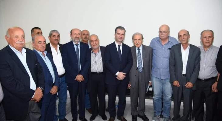 """أنور الخليل زار مركز جمعية """"تمدن"""" في شبعا"""