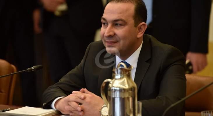مرتضى: البدء بحفر اول بئر نفطي في لبنان اعتباراً من الخميس المقبل