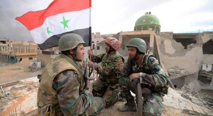 الجيش السوري إستعاد السيطرة على مدينة سراقب بريف ادلب الشرقي