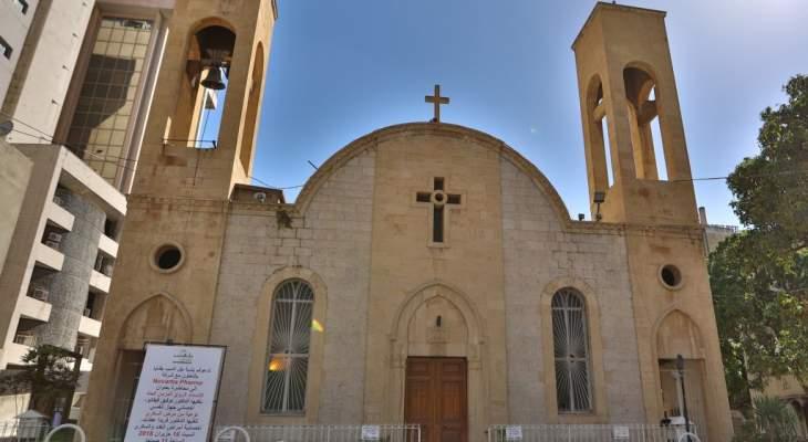 MTV: قسم من المتظاهرين في جل الديب انتقلوا إلى أمام كنيسة مار عبدا
