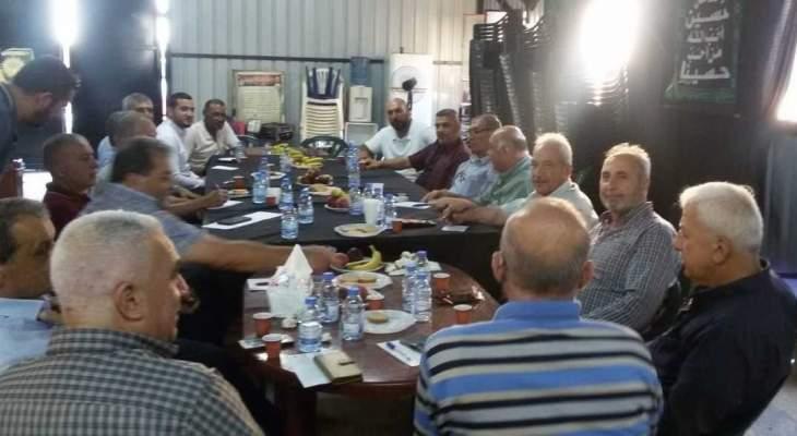 الأحزاب والقوى الوطنية: التآمر على قضية فلسطين بلغ ذروته مع إنعقاد مؤتمر البحرين