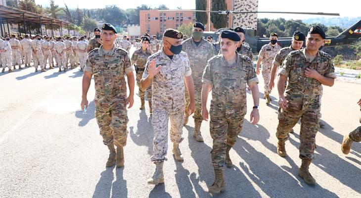 رئيس الأركان: قيادة الجيش ستبقى إلى جانب عسكرييها خلال هذه المرحلة الصعبة