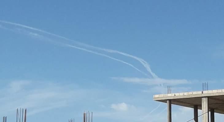 النشرة:الطيران الإسرائيلي خرق حرمة الأجواء اللبنانية من فوق مزارع شبعا