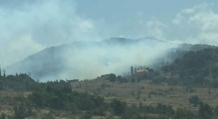وصول طائرتين أردنيتين الى مطار بيروت للمساعدة في إخماد الحرائق