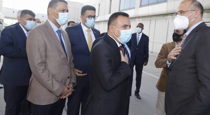 التميمي وصل بيروت: المساعدات التي أرسلتها حكومة العراق هي لدعم وزارة الصحة على مواجهة كورونا