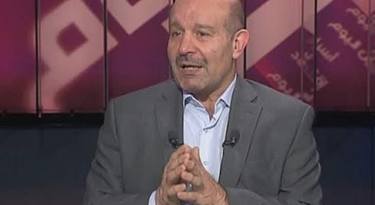 علوش: اي حكومة يوجد فيها حزب الله لن تتمكن من الذهاب الى عملية انقاذية واسعة