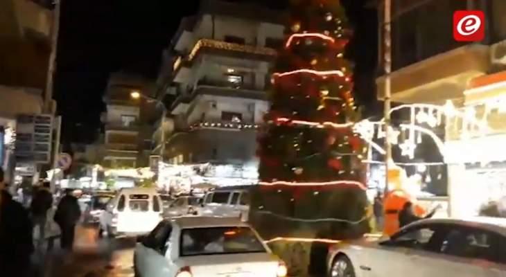 النشرة: المناطق المسيحية في سوريا تتحضر للاحتفال بعيد الميلاد