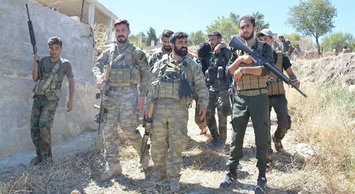 الفصائل المدعومة من تركيا تستعد للمشاركة بمعركة شرق الفرات