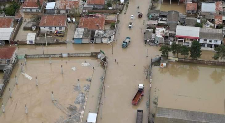 إرتفاع حصيلة ضحايا الفيضانات في إيران إلى 70 قتيلا و791 جريحا