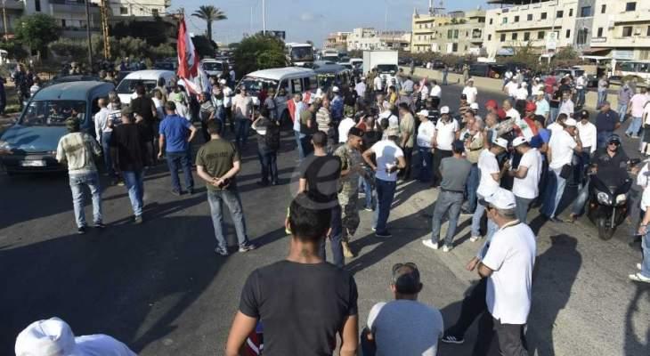 المتقاعدون العسكريون يقتحمون ساحة النجمة وباتوا على بعد امتار من مجلس النواب