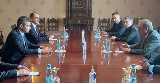 فرنجية التقى بوغدانوف: لخروج لبنان من ازمته مع تشكيل الحكومة الجديدة