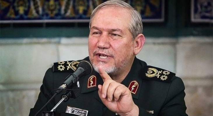 مسؤول عسكري إيراني: بلدنا يمكنه أن يكون لاعبا رئيسيا لاقتصاد جنوب غرب آسيا