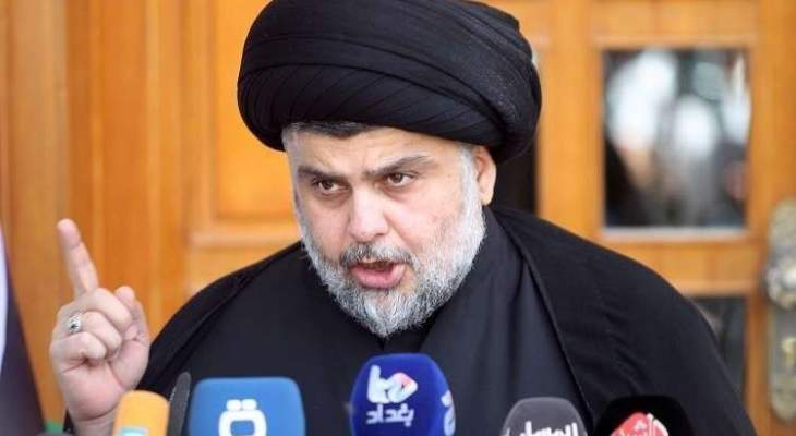 الصدر دعا المتظاهرين  لابعاد شبح التدخل الاميركي وعدم التعرض للبعثات الدبلوماسية