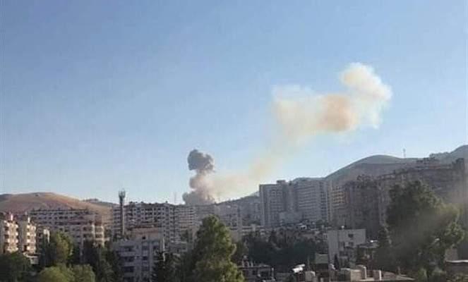 سانا: حريق بأحد مستودعات الذخيرة في دمشق تسبب بانفجار