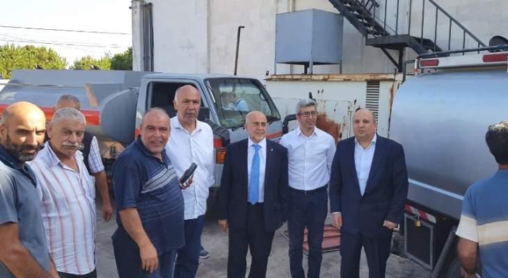 يمق سلم المازوت للأفران في طرابلس بحسب الجدول المعد مسبقا من وزارة الاقتصاد