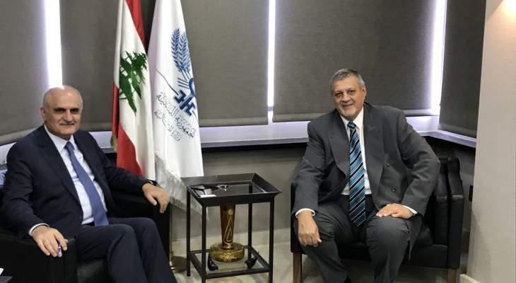 خليل استقبل المنسق الخاص للأمم المتحدة في لبنان يان كوبيش