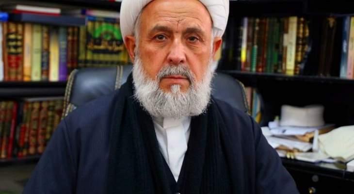 الشيخ ياسين: اي شكل من اشكال التطبيع خيانة للوطن واستهانة بدماء الشهداء