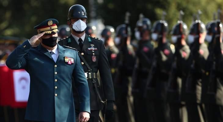 رئيس أركان الجيش التركي إستقبل قائد الجيش: تركيا وجيشها ستدعمان الجيش اللبناني