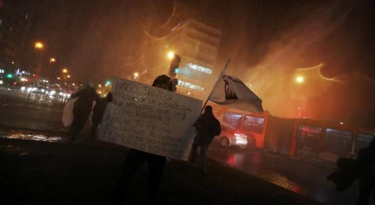 رئيس تشيلي: بلادنا تخوض حرباً ضدّ عدوّ قوي