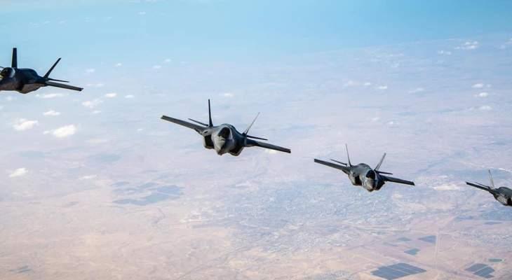 أدرعي: قواتنا أجرت مناورات عسكرية مشتركة معسلاح الجو الأميركي