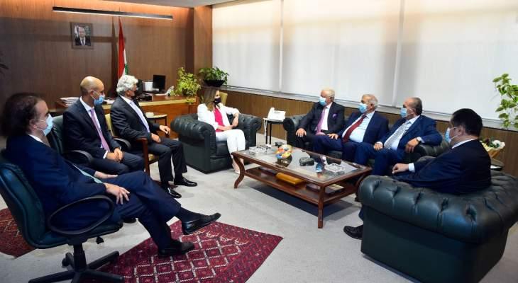 عبد الصمد التقت مجلس العمل والاستثمار اللبناني بالسعودية: لتفعيل التعاون والتنسيق