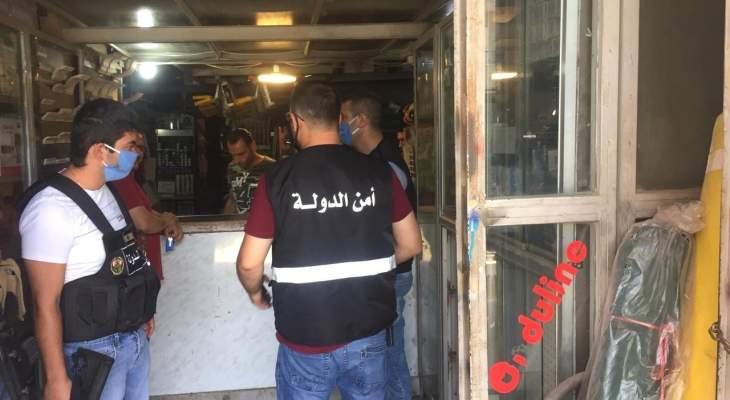 مراقبو حماية المستهلك جالوا في حلبا والجوار على محطات المحروقات والسوبرماركت