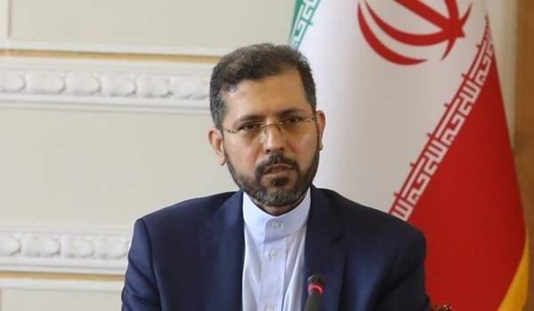 خارجية إيران: لتتصرف أميركا بمسؤولية وتنهي تواجدها الكارثي بأفغانستان