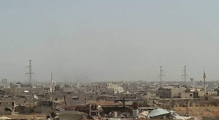 انفجار عبوة ناسفة بقرية الغندورة بريف حلب الشمالي الشرقي