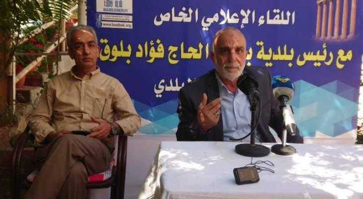 رئيس بلدية بعلبك: تسجيل إصابة سادسة بفيروس كورونا في مخيم الجليل