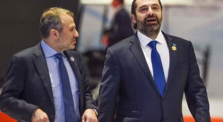 مصادر المنار: التباعد بين باسيل والحريري لا يزال على حاله
