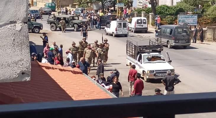 النشرة: اطلاق نار خلال إشكال في بلدة قب الياس
