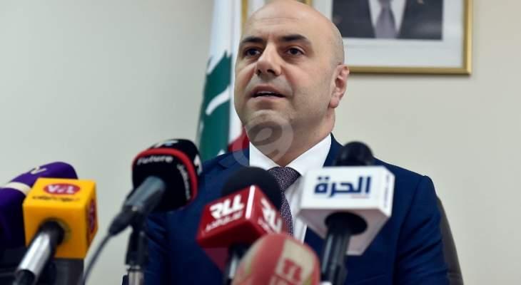 حاصباني: مصرون مصرون على مناقشة الاصلاحات أولا قبل زياد الضرائب