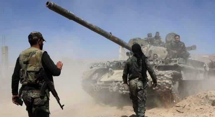 الجيش السوري يتحرك باتجاه الشمال لمواجهة العملية العسكرية التركية بسوريا
