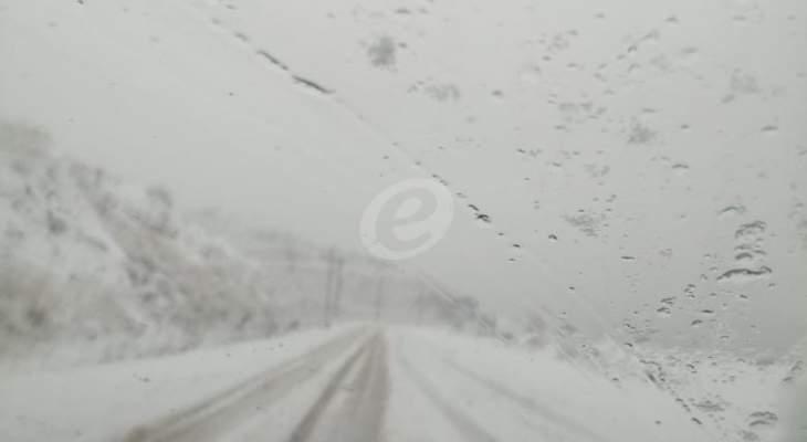 التحكم المروري: طريق ترشيش - زحلة سالكة أمام جميع المركبات حاليا