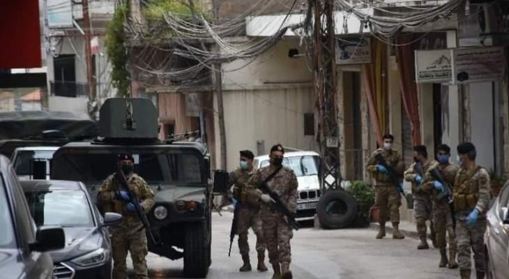 النشرة:الجيش نفذ انتشاراً باحياء وشوارع الهرمل منعا لأي اشتباكات جديدة