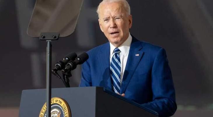 بايدن هنأ بينت: أتطلع للعمل معك وستبقى أميركا داعما ثابتا لأمن اسرائيل