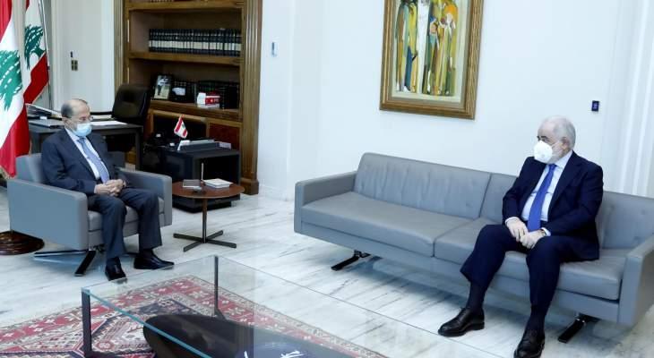 """أبو زيد التقى عون: الجانب الروسي ابدى استعداده لتقديم هبة من لقاح """"سبوتنيك"""" الى لبنان"""