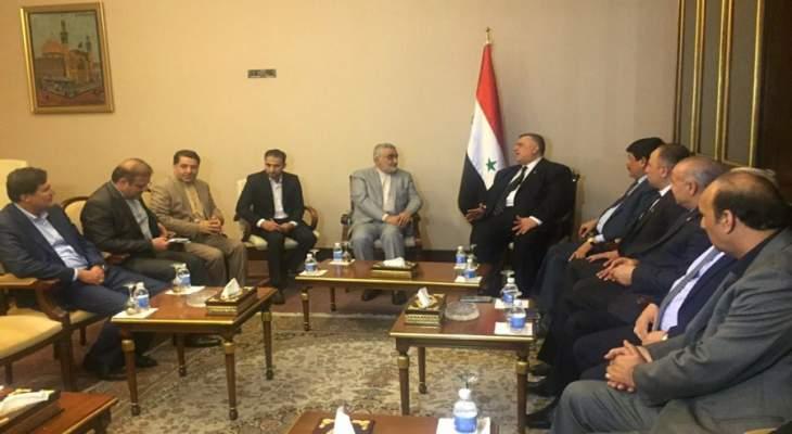 بروجردي التقى صباغ في بغداد: قرار ترامب بشأن الجولان باطل وغير شرعي