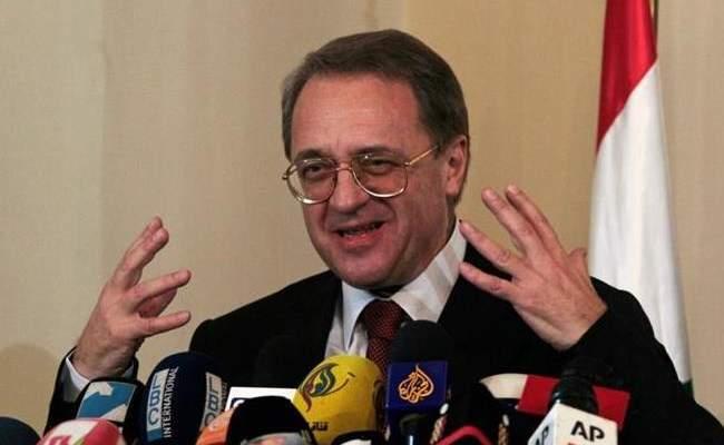 بوغدانوف يؤكد للحويج: لا بديل للتسوية السياسية في ليبيا